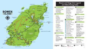 Bowen Island Map