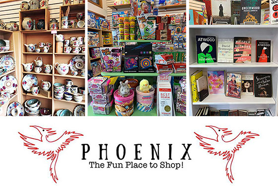 Phoenix on Bowen – a fun place to shop – all ages.