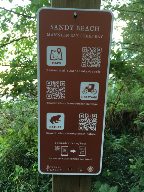 QR Codes for Bowen Trails
