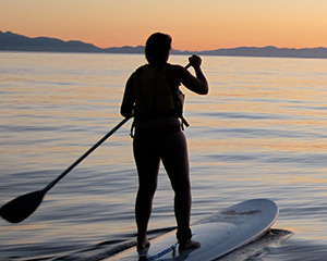 Bowen Island Sea Kayaking paddleboard rentals
