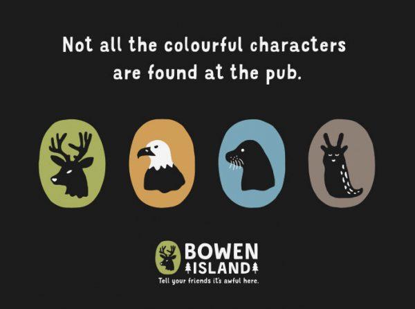 Bowen Island mascots