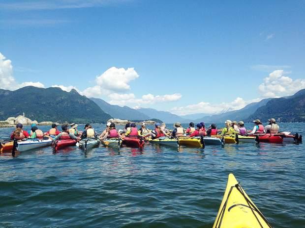 Bowen Island Sea Kayaking