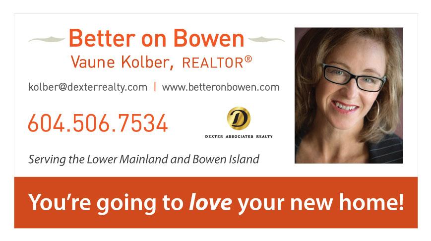 Vaune Kolber - Better on Bowen