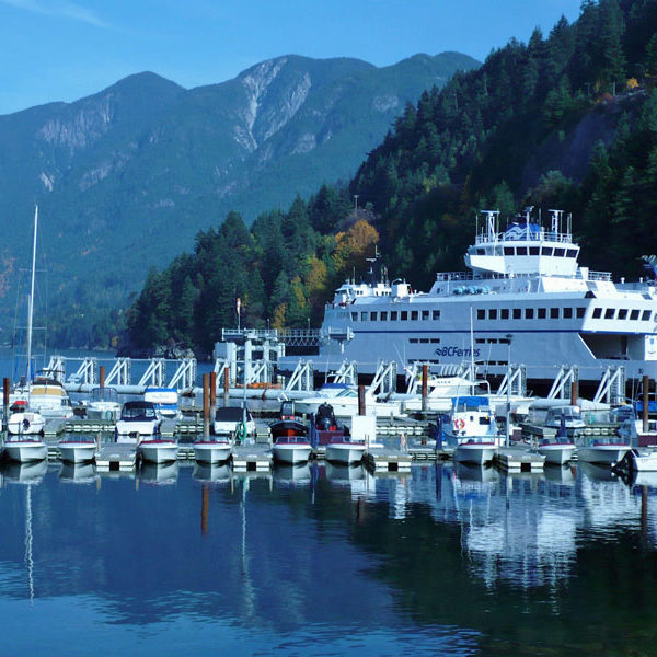 Horseshoe Bay Ferries - getting to Bowen Island