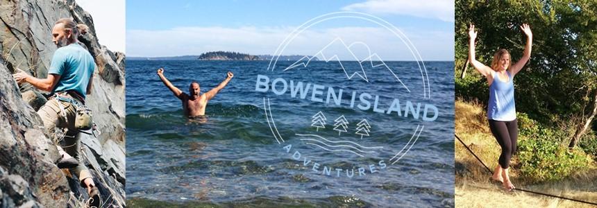 Bowen Island Adventures - slacklining