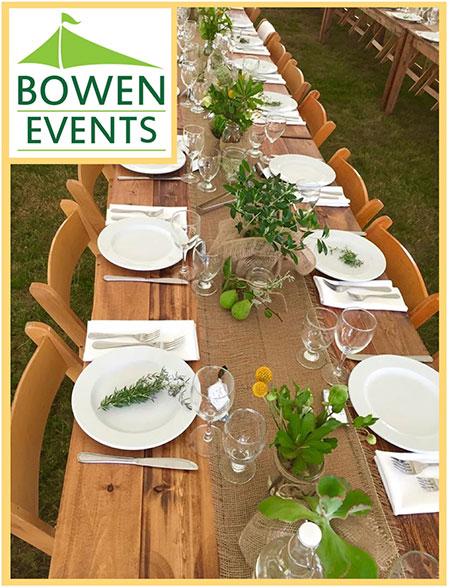 Bowen Event Rentals Logo