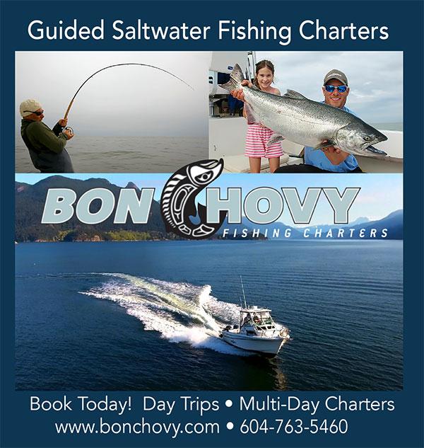 Bon Chovy Fishing Charters advertisement