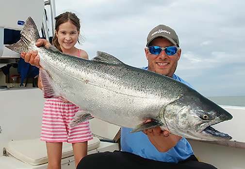 Bon Chovy Fishing Charters, family-fun, Vancouver's leading fishing charters